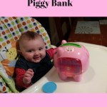 Fisher Price Pink Piggy Bank is fun counting toy