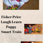 Fisher Price Laugh Learn Puppy Smart Train makes Amelia smile