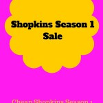 Shopkins Season 1 Sale