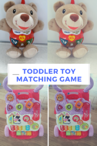 free toddler matching game