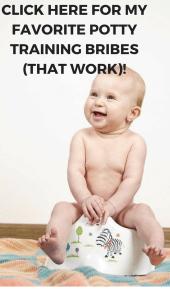 potty training incentive ideas