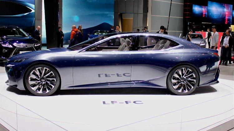 Lexus LF-FC at Geneva 2016