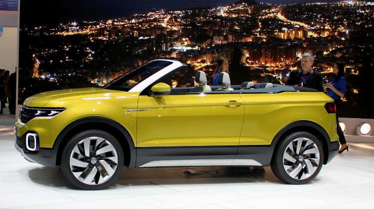 VW T Cross Breeze at Geneva 2016