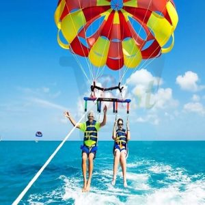 Undersea Walk, Parasailing, Tube ride, Belle Mare Mauritius