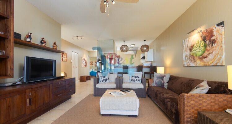 Bel Azur apartment Living area