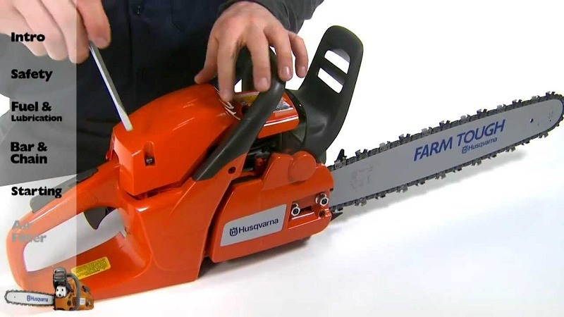 How To Change The Air Filter On Your Chainsaw
