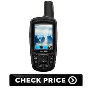 GPS unit for hiking