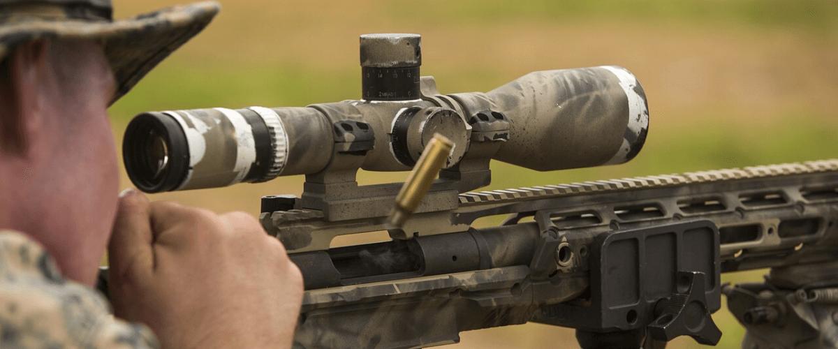 rifle scope under $300