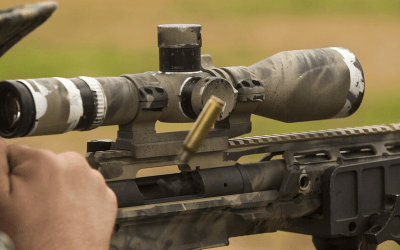 rifle scope under $300