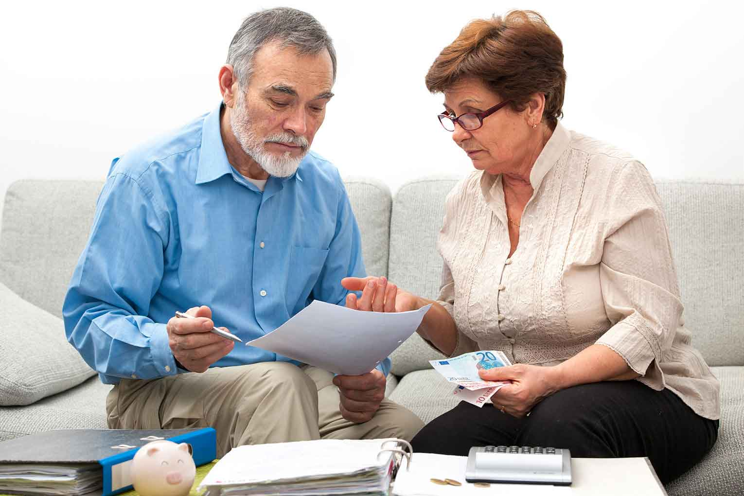 One in five retirees struggling with debt