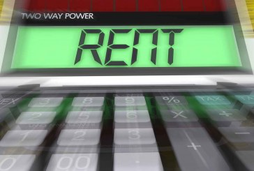 Over half of disposable income spent on rent