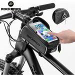 ROCKBROS-Bicycle-Bag-Waterproof-Touch-Screen-Cycling-Bag-Top-Front-Tube-Frame-MTB-Road-Bike-Bag-4