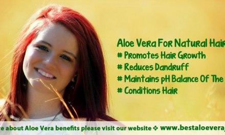 Aloe vera juice for natural hair growth