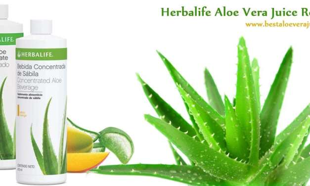 Herbalife aloe vera juice review