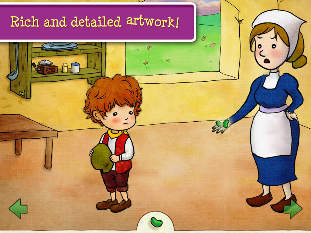 Coloring Storybook Jack And The Beanstalk