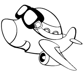 airplane-colouring-pages-free