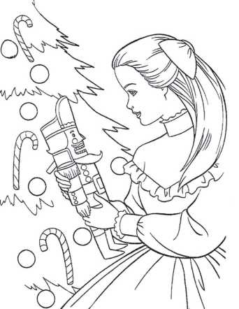 barbie-christmas-coloring-pages