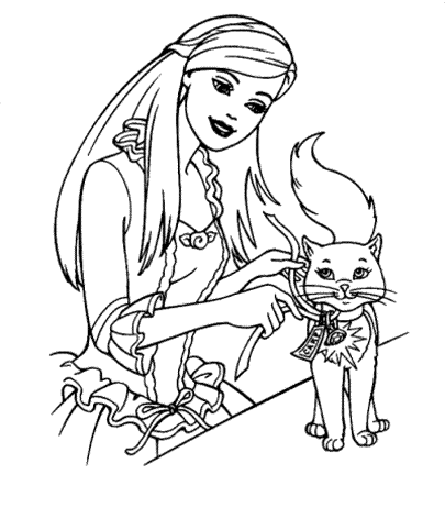 barbie-coloring-pages-free