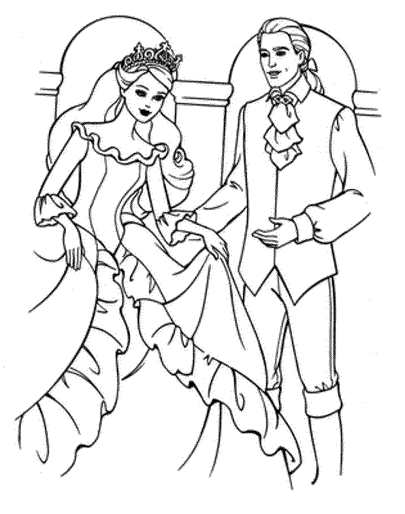 barbie-wedding-coloring-pages