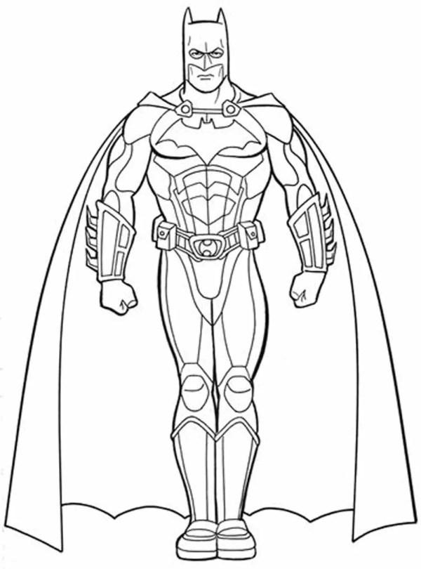 batman printable coloring pages # 7