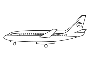 big-airplane-coloring-pages