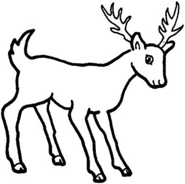 cartoon-deer-coloring-pages