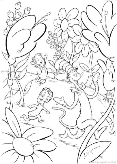 cat-in-the-hat-coloring-pages