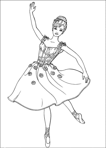 coloring-pages-barbie