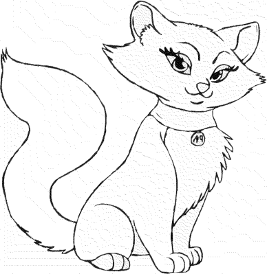coloring-pages-of-cats