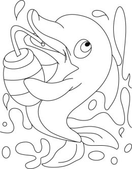 coloring-pages-of-dolphins