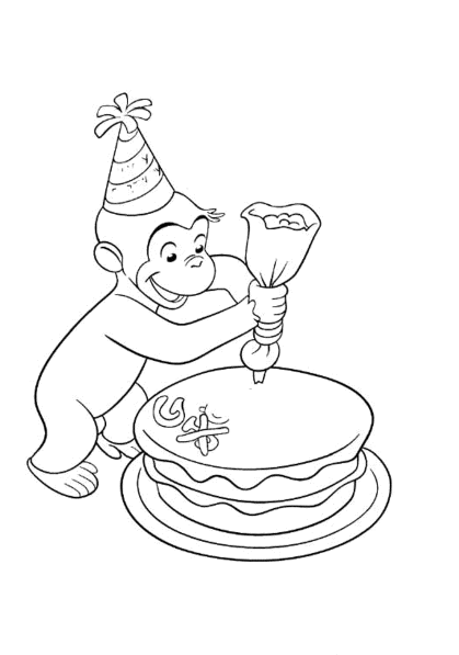 curious-george-decorating-a-cakes-coloring-pages