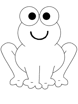 cute-frog-coloring-pages