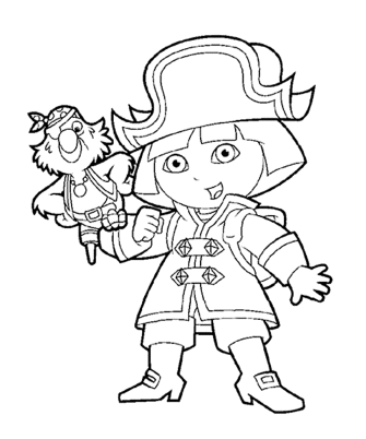 dora-halloween-coloring-pages
