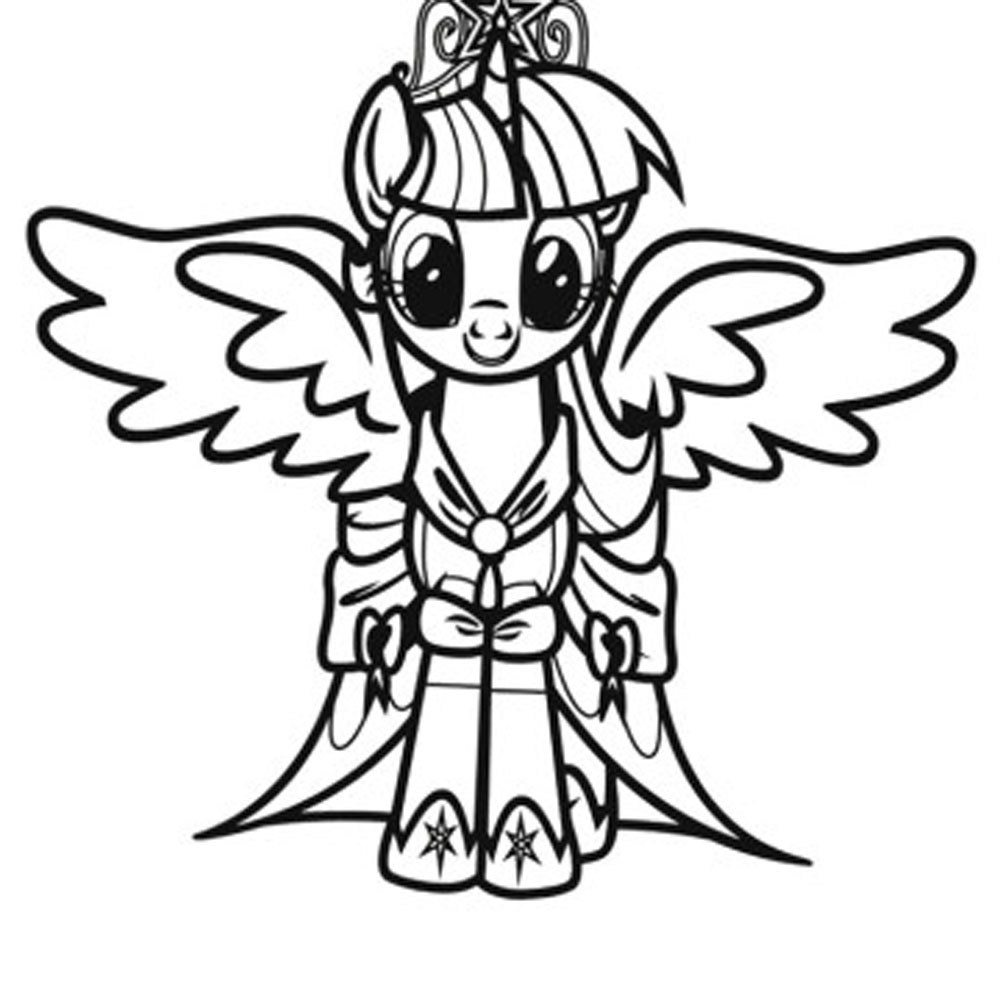Print & Download - My Little Pony Coloring Pages: Learning ...