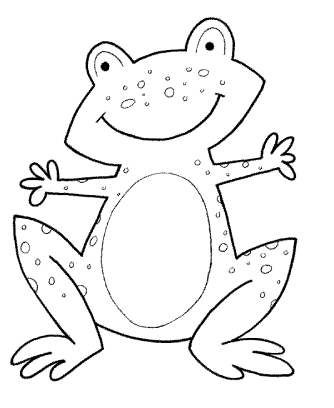 frog-head-coloring-pages