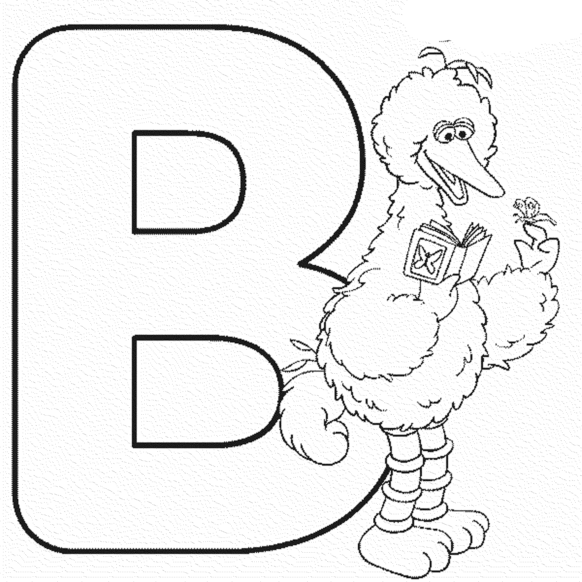 Letter B Coloring Pages Activities Bestappsforkids Com
