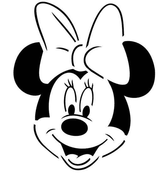 minnie-mouse-face-coloring-pages