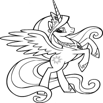 my-little-pony-princess-cadence-coloring-pages