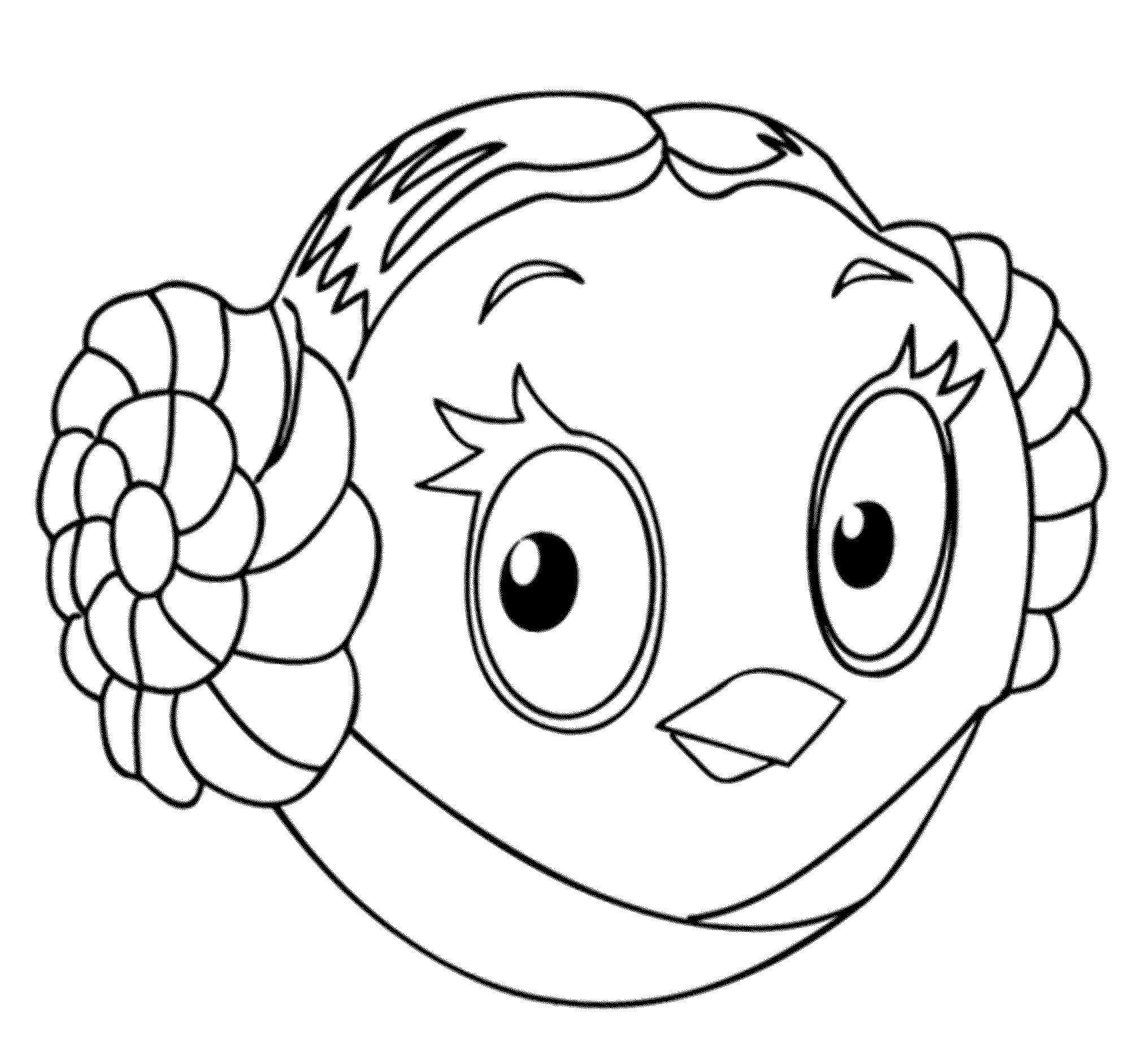 Printable Angry Bird Coloring Pages