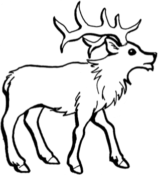 reindeer-coloring-pages