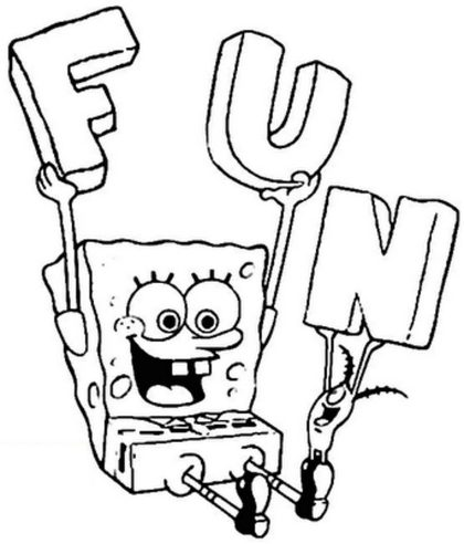 spongebob-coloring-pages-printable