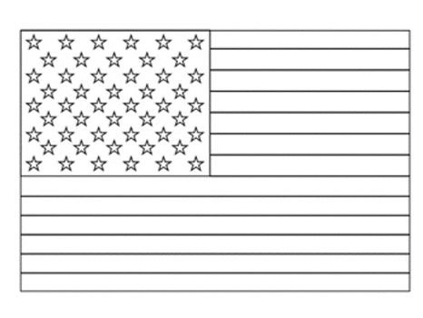 american-flag-coloring-page-simple