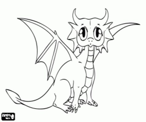 baby-dragon-coloring-pages