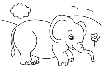 baby-elephant-coloring-pages