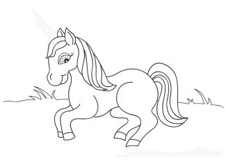 barbie-horse-coloring-pages