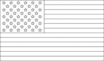 black-and-white-american-flag-coloring-page
