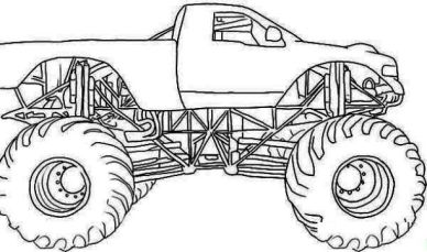 bulldozer-monster-truck-coloring-pages