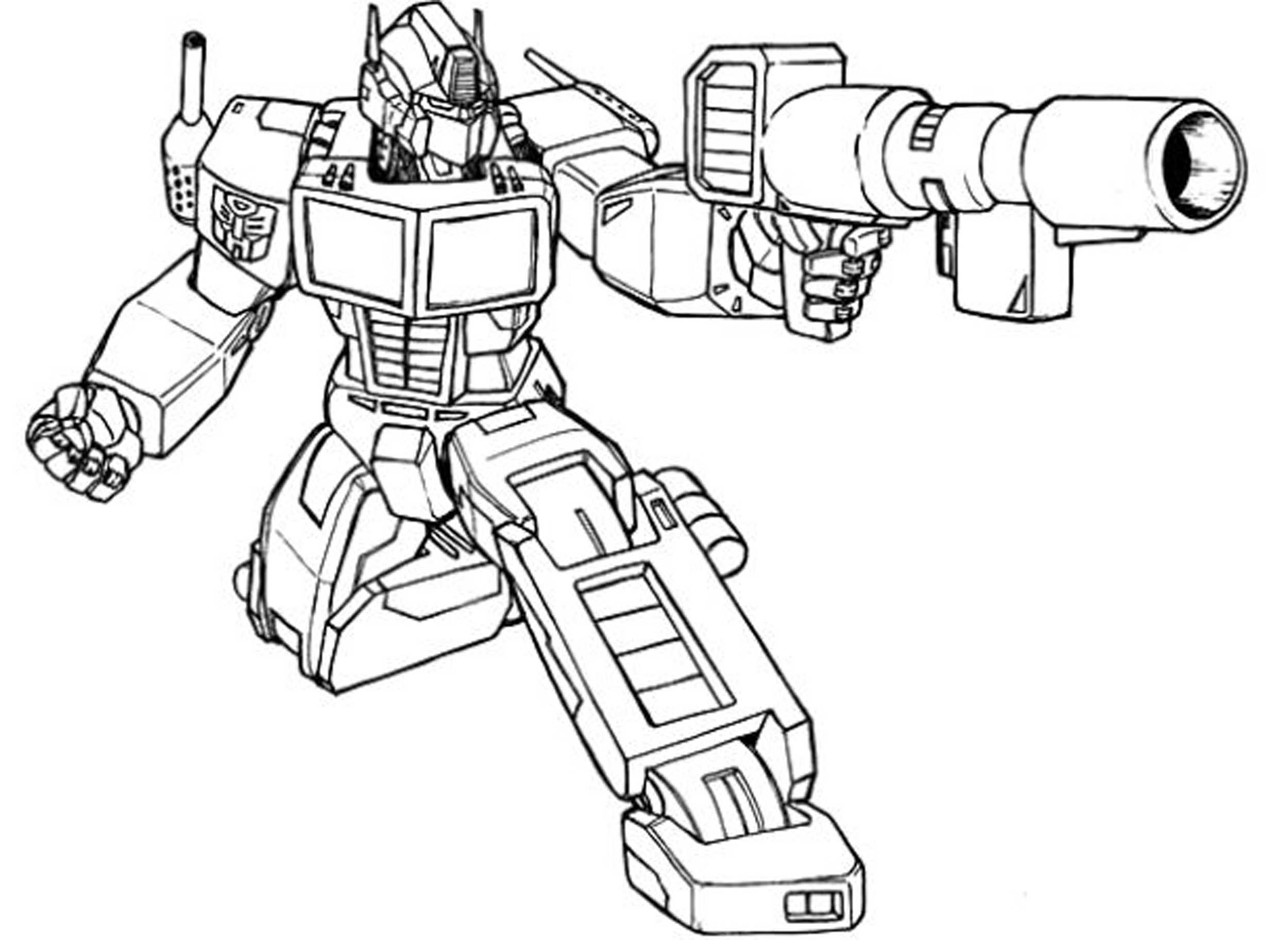 Inviting Kids To Do The Transformers Coloring Pages Best Apps For Kids