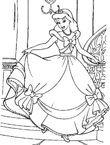 cinderella-coloring-pages-free