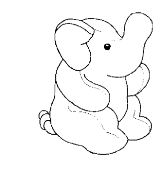 coloring-page-of-elephant